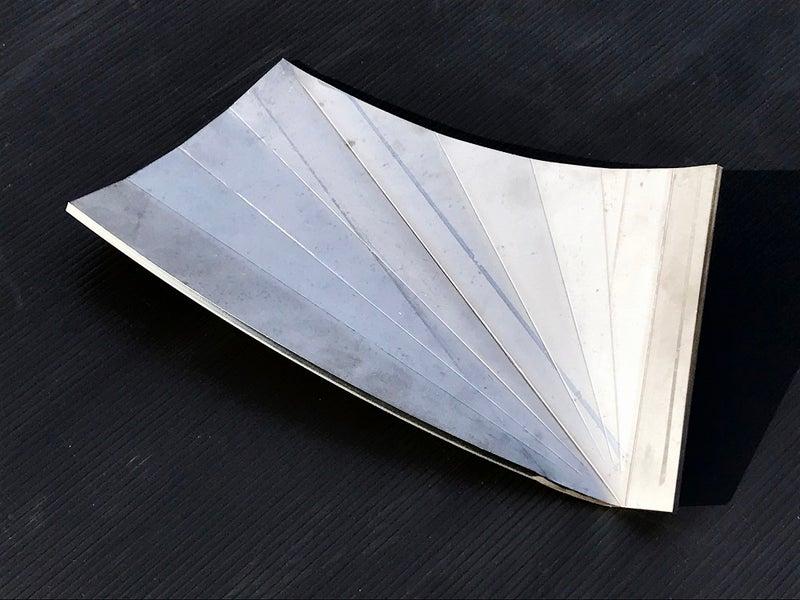 サイクロン集塵機の羽根(ガイドベーン)の製作