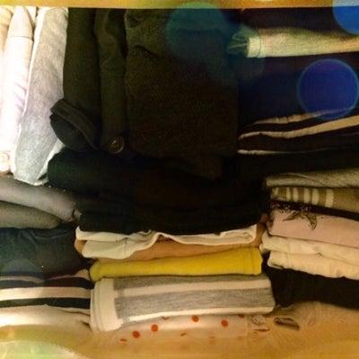 こんまり流☆衣類の整理収納 Before→ Afterの記事に添付されている画像