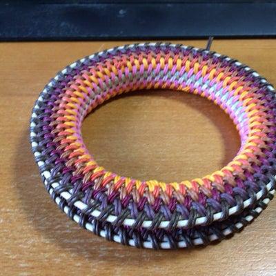 籐と紙バンドで作る弦巻製作(口部・塗装編)の記事に添付されている画像
