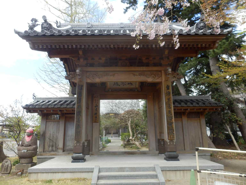 南朝の皇子の墓がある西光寺 仙台市宮城野区福室