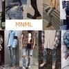 mnml ZIPジーンズ少量入荷です!!の画像