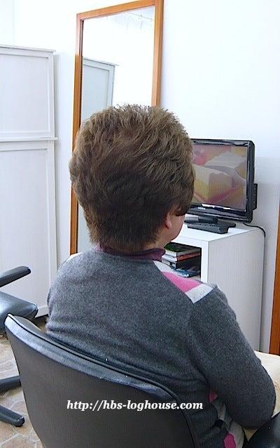 80代 ショートヘア 髪型 ボリュームアップ