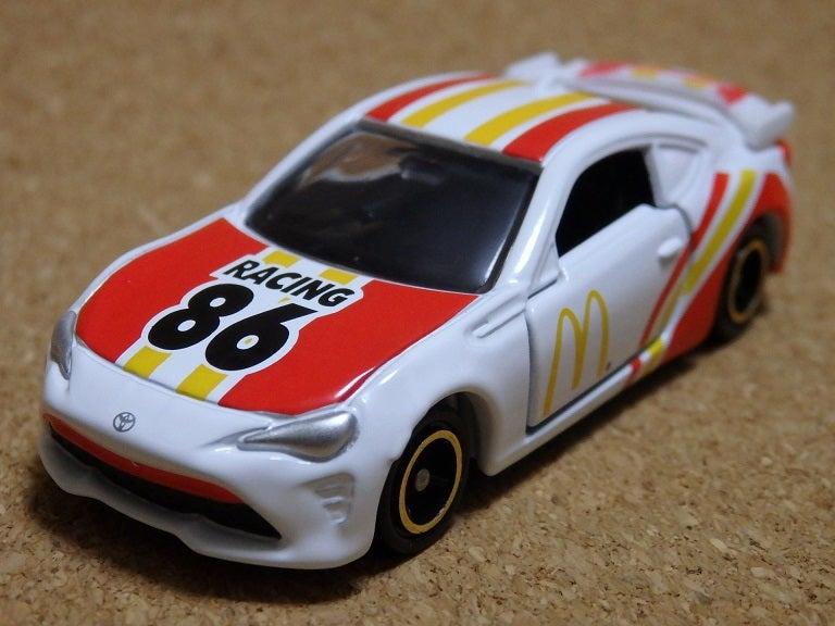 マクドナルド86レーシングカー