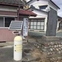 被災地(福島県)を歩…