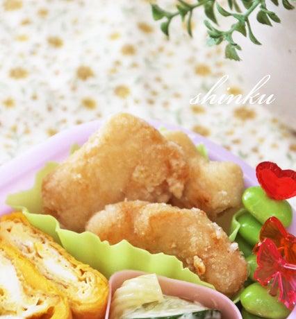 冷めてもおいしい*鶏むね肉の揚げない唐揚げ【下味冷凍お ...