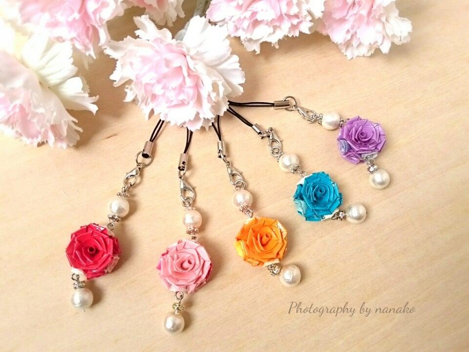 若柳の薔薇は「くりでん」でカラフルに咲いています。の記事より