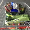 コストコでお買い物の画像