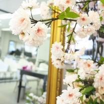 【4月春のシーズンレッスン】桜の花束1Dayレッスン風景の記事に添付されている画像