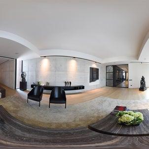 岡山 倉敷 360度 VR 全天球 パノラマ 撮影 建築写真家 竣工撮影の画像
