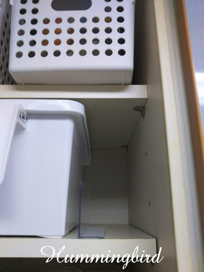 9eea01708f セリア】取っ手付き白カゴを見つけて、キッキン吊戸棚の収納見直し ...