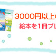 3000円以上ご購入…