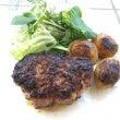 イノシシ肉ハンバーグ