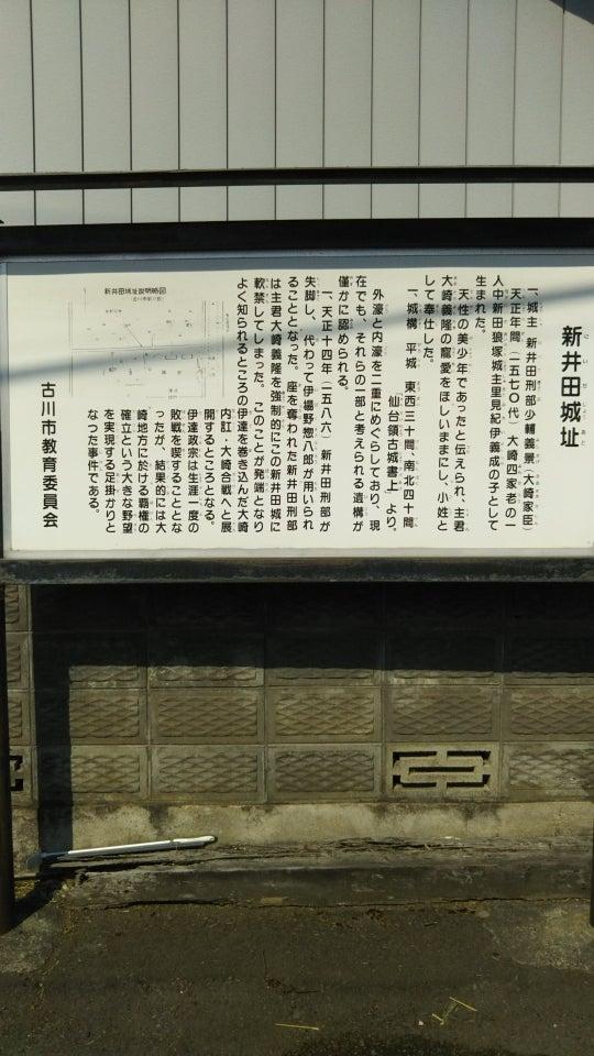 大崎市の城跡~新井田城・新堀館...