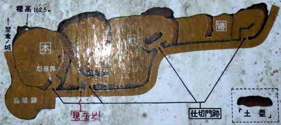 【図2】蒲生城