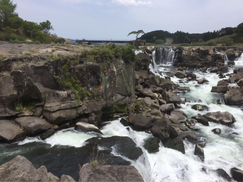 鹿児島県伊佐市曽木の滝に行って...