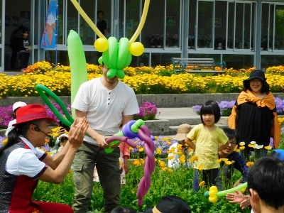 しまね花の郷 バルーンアートショー