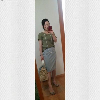 似合わないカーキ、オリーブを着るコツ ~サマータイプ~の記事に添付されている画像