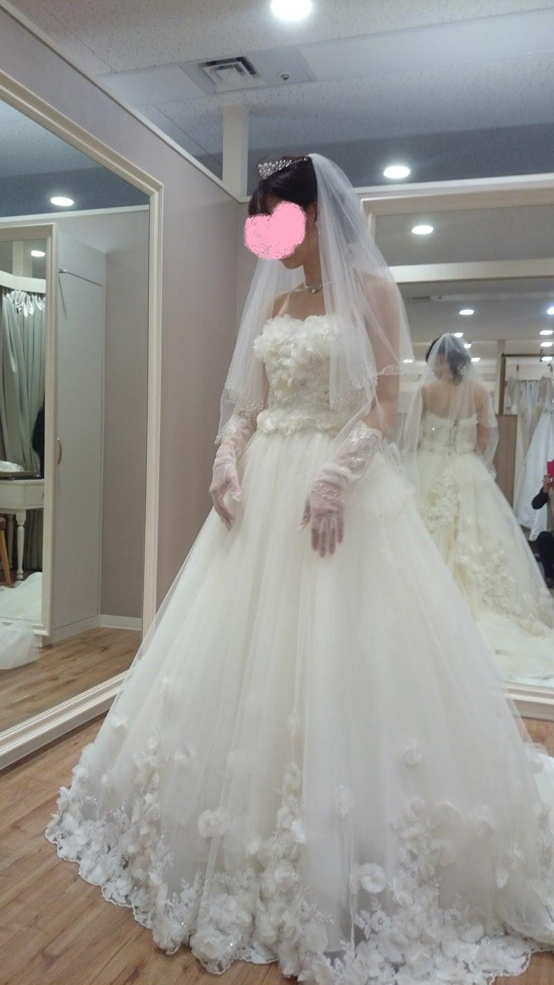 dc292f66641bd ドレスが「可愛らしい」という印象なのでそれに合ったもので、ドレス試着のときに合わせてもらった感じで小物はこんなのがいいな、となんとなくイメージしてました 。