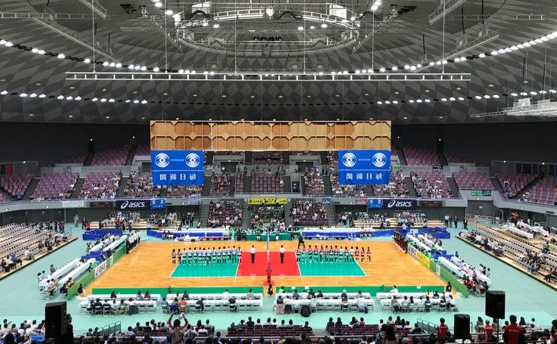 黒鷲旗第37回全日本バレーボール男子・女子選手権大会