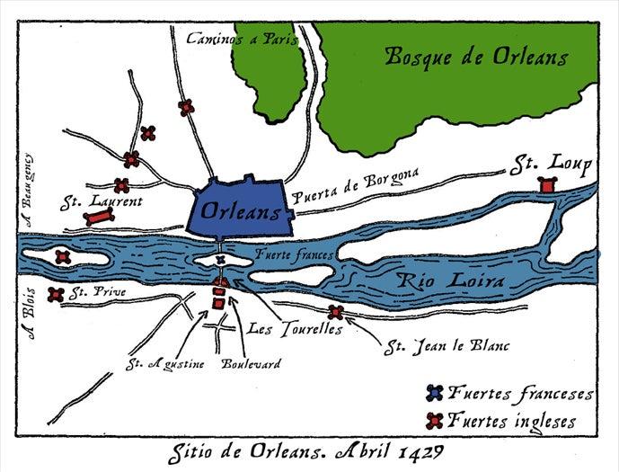 百年戦争オルレアン包囲戦1   戦...