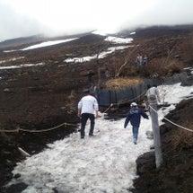 富士山5合目へ行って…