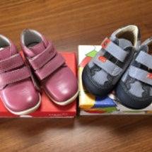 ヨーロッパの子ども靴…