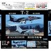 T-2飛行教導隊パッケージとミッドウェー海戦作戦名プレートの画像