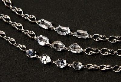 ハーキマーダイヤモンドブレス3本1