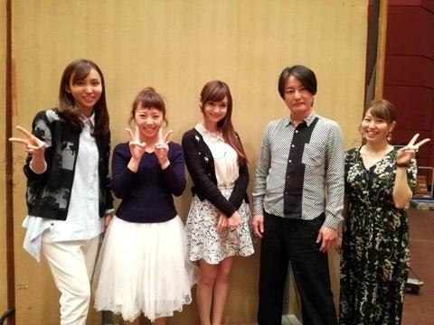 FM-NHK『吉木りさのタミウタ』収録☆ | 若狭さち Official Blog