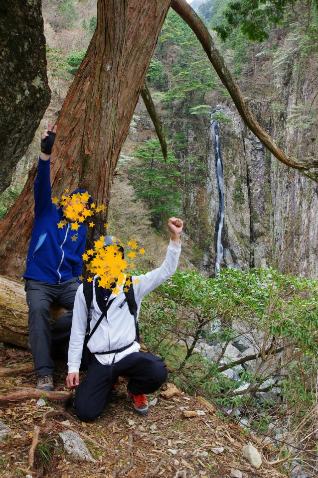 奈良県 双門の滝へ② かなり壮絶