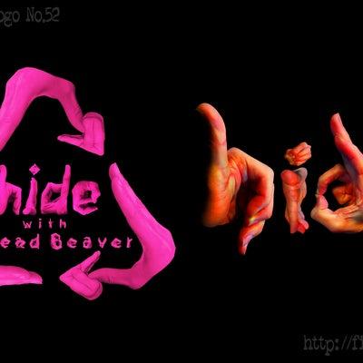 「hide」 フィンガーロゴ Finger Logo Hand Logoの記事に添付されている画像
