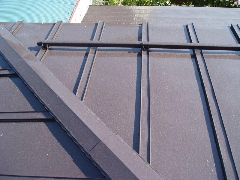 中野市 屋根 塗装 施工後
