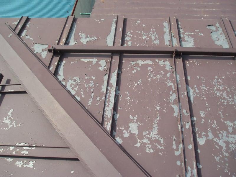 中野市 屋根 塗装 施工前
