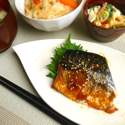 さっぱり♡塩サバのごま酢焼き*本日受付開始と母の日の記事に添付されている画像