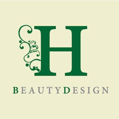 ヘアサロン開業ロゴ制作,おしゃれな美容室看板ロゴ