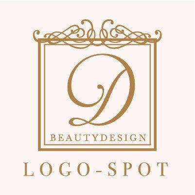 おしゃれ美容ロゴ作製,プライベートサロン看板ロゴ