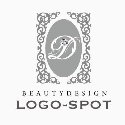エレガントデザインロゴ,おしゃれな美容サロンロゴ