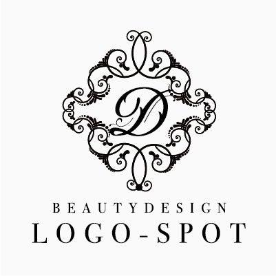 エステサロン開業ロゴ,エレガントなリラク看板ロゴ