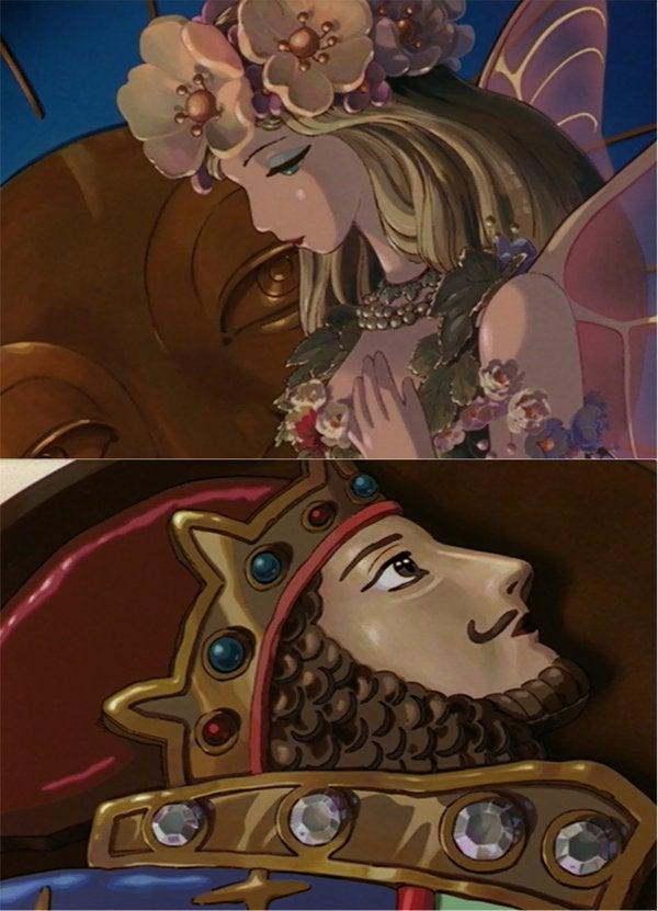 離れ離れのドワーフの王とエルフの女王が主とわたしのようだと思ったり。