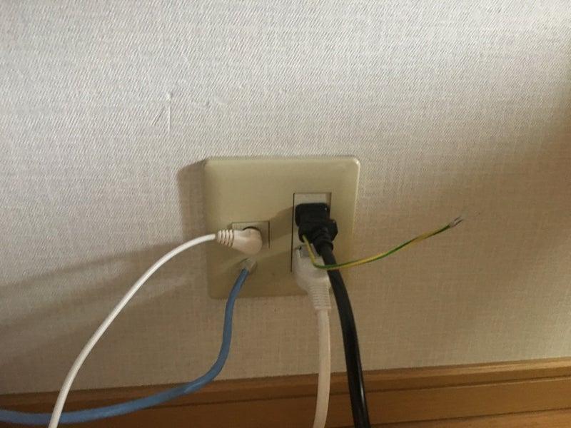 2階-3階屋外LAN配線工事