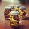 美容に良い!ハチミツナッツ漬けレシピの画像