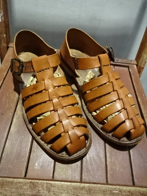 88afaea04ac Vintage Leather Sandals British Army Dead Stock!