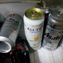 暑すぎてビールとラム…