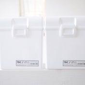 セリアの真っ白CDボックスがスッキリ便利!