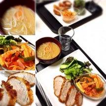 *最近の夕食*