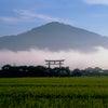 なぜか、奈良の『三輪山』がクローズアップされているこの頃の画像