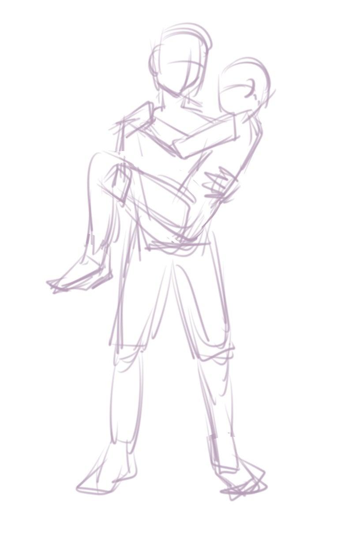 お姫様抱っこ作業工程 想像は心の宝庫
