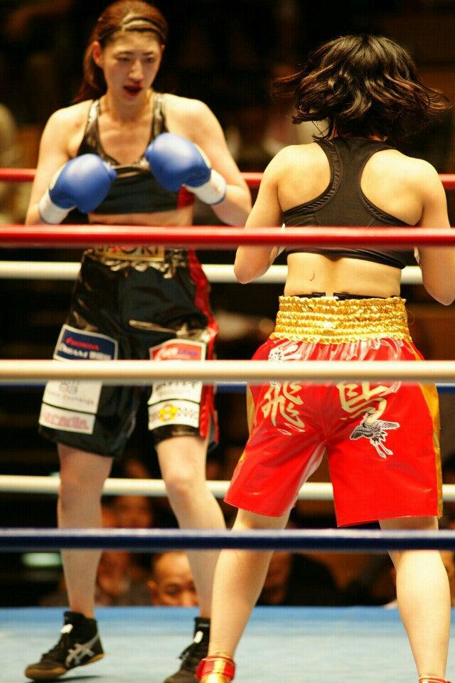 今月の女子プロボクシングはモデ...