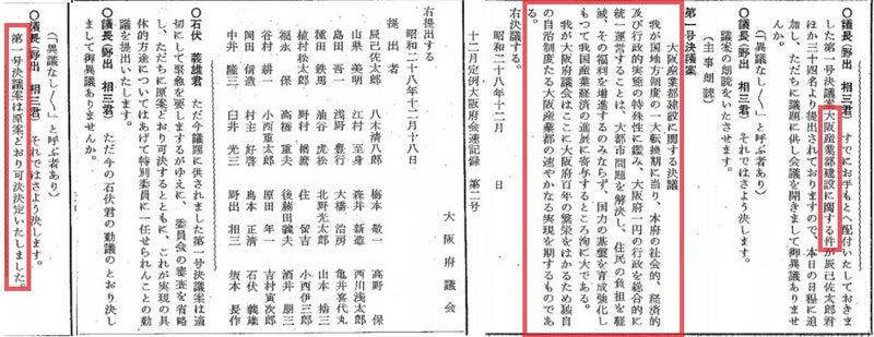 東京都政移行と大阪産業都に関する決議文|大阪維新の会 大阪府議会議員 横山ひでゆき