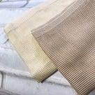 「タオルがとろけて羽二重餅のような(笑)」「キュッキュッとしてサッパリ」@SOLCOタオル感想の記事より